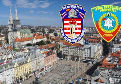 Jvp Varaždin na ispomoći zagrebačkim vatrogascima