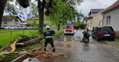 Tri intervencije uslijed vremenskih neprilika