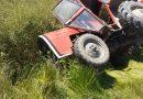 Prevrtanje traktora u Majerju